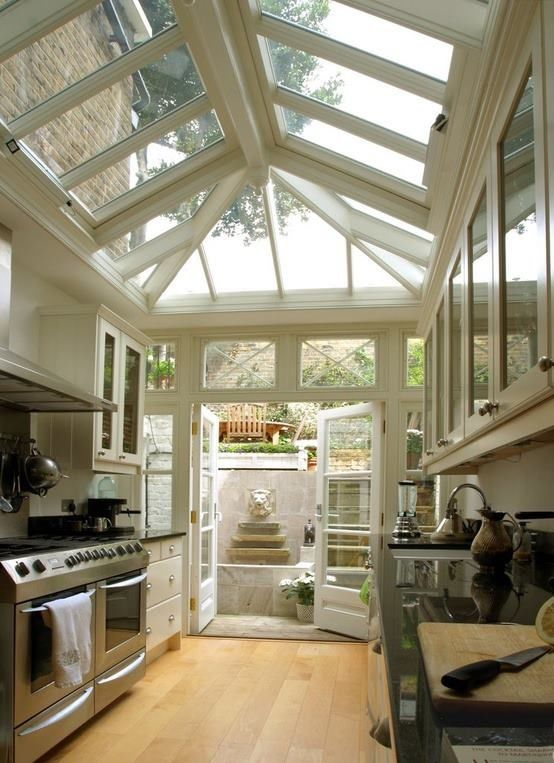 Sunroom kitchen when we remodel i want to turn sunroom for Kitchen with sunroom attached