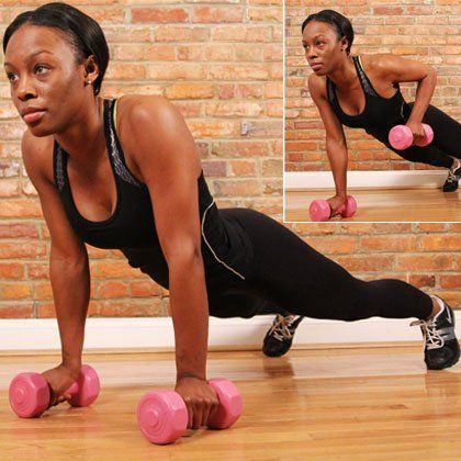 The Best Upper-Body Exercises for Runners | Shape Magazine