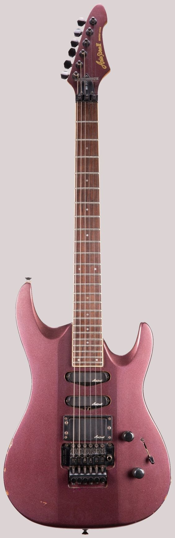 aria pro ii magna na-30r superstrat ukulele corner