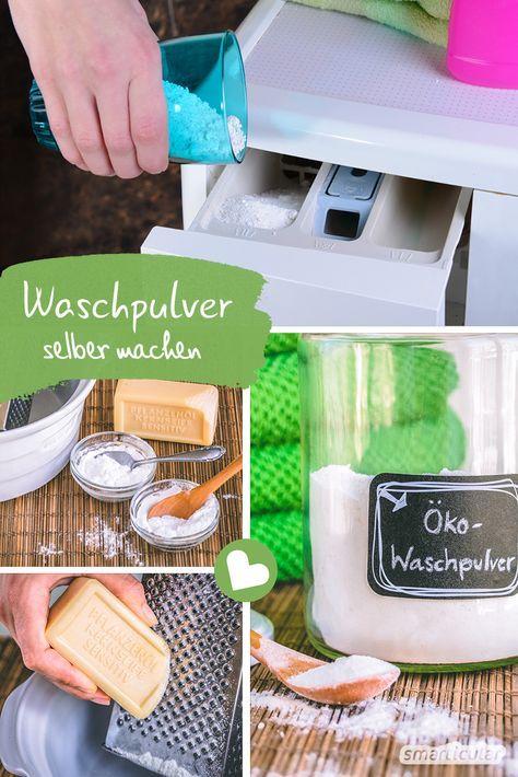 Okologisches Waschpulver Aus Eigener Herstellung Spulmittel