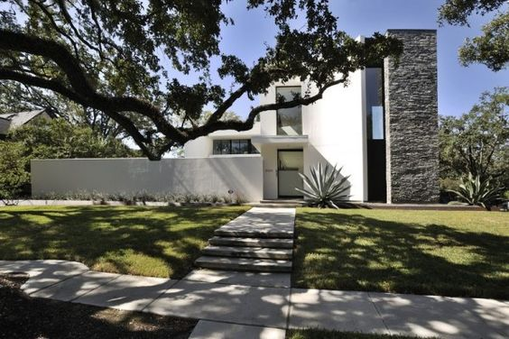 Mandell Street House, Texas, designed by Allen Bianchi Architects