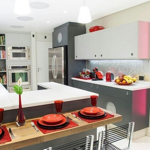 Cozinha Bola, por Marcelo Rosenbaum! #ornare #ornarerecife #ornaremóveis
