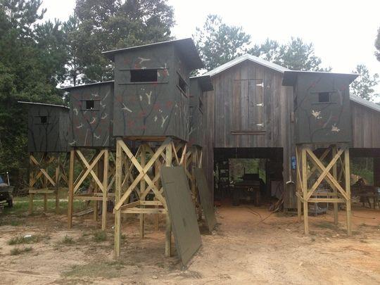 Deer Hunting Shooting Houses ATV Hunting Pinterest