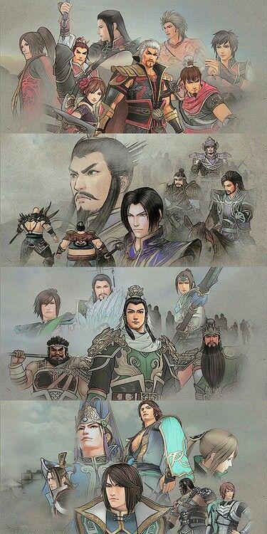 Dynasty Warriors 7 - Wu, Wei, Shu, Jin