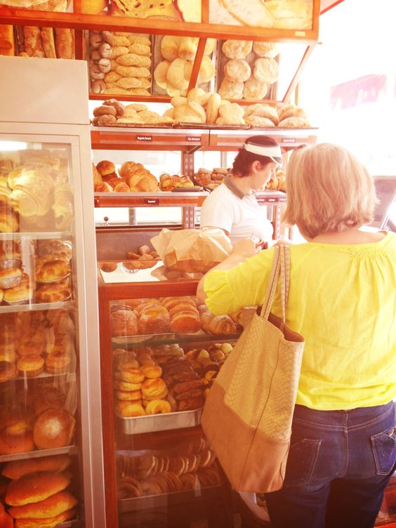 Ana at the bread shop #portugal #bread #summer #holiday #travel #food #breakfast #goodlife