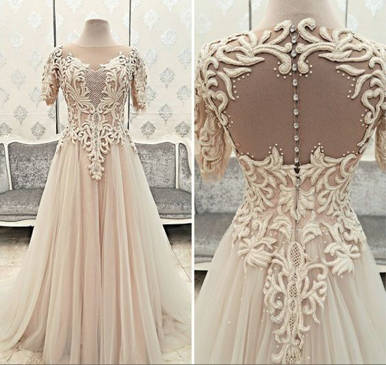 صور فساتين سواريه فساتين سهرة تصميمات جديدة Wedding Dresses Romantic Wedding Gown Beautiful Dresses