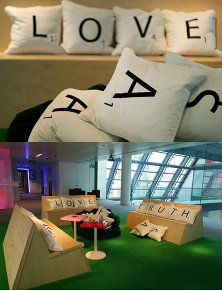 i want these scrabble pillows! :