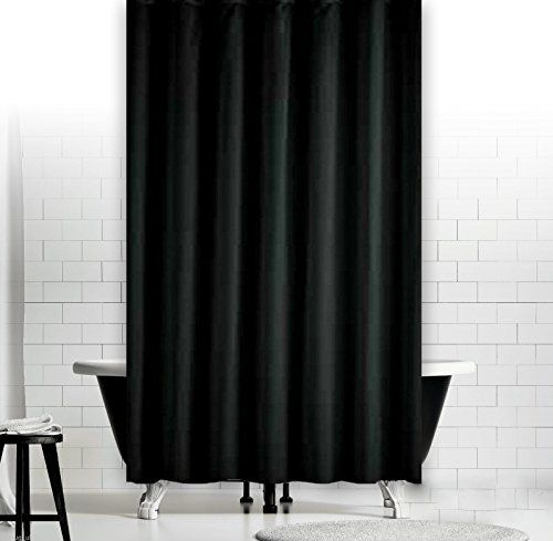 Bildergebnis Fur Duschvorhang Schwarz Window In Shower Curtains Black Shower