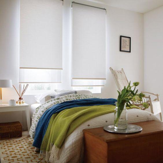 ロールスクリーン エブリ 遮光 タチカワブラインド 寝室
