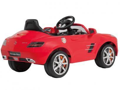 Carro Elétrico Infantil Mercedes AMG - com Controle Remoto - Bandeirante com as melhores condições você encontra no Magazine Tonyroma. Confira!
