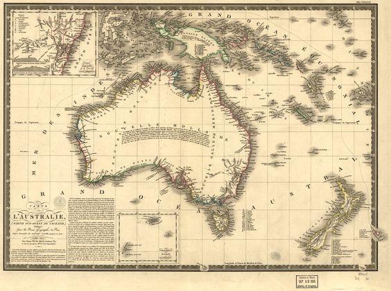 Adrien Bru 17861832 accompanied the French explorer Nicolas – Explore Australia Map