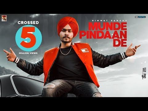 Munde Pindaan De Lyrics Himmat Sandhu In 2020 Songs Album Songs Mp3 Song