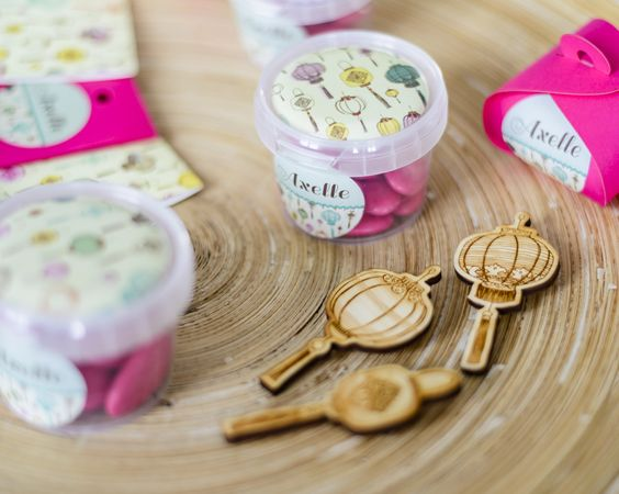 Gele Collectie - Kaartjes & Co - Doopsuiker collecties - www.blueandpink.be
