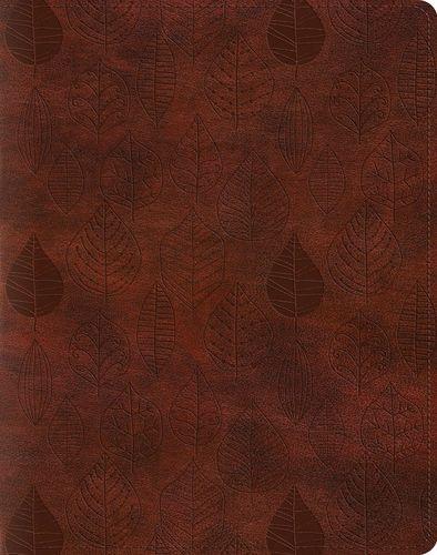 ESV Single Column Journaling Bible - Chestnut Leaves – Kristin Schmucker
