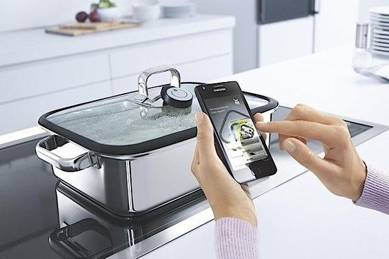 Der Smart-Dampfgarer mit Bluetooth von WMF
