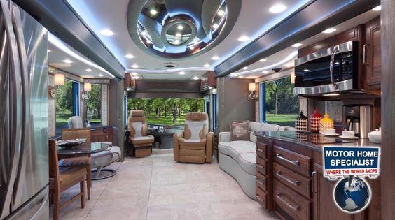 $1.2M Foretravel Luxury RV: https://www.youtube.com/watch?v=CBtGk1kcSOM