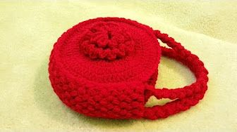 """Tutorial uncinetto pochette """"Greece""""   Punto fantasia   How to make a crochet…"""
