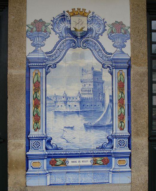 Painel de Azulejos: Torre de Belém - Marvão-Beirã   Flickr – Compartilhamento de fotos!