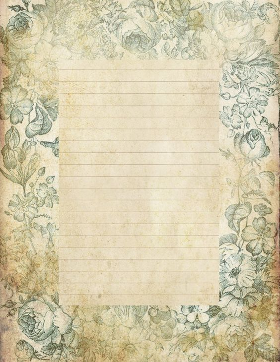 Lilac \ Lavender Antiqued lined paper \ Stationery Stationary - free printable lined stationary