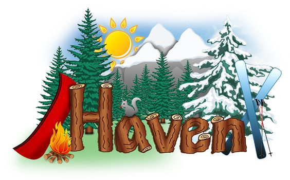 Haven logo designed by Spectra Marketing Solutions. Need graphic design? Visit www.spectrams.com