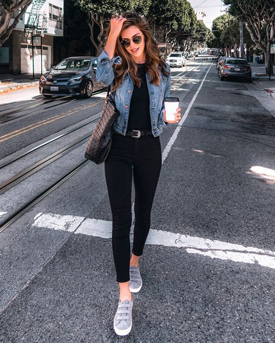 it-girl - jaqueta-jeans - jeans - outono - street-style