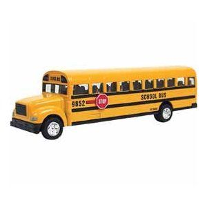 If your kid likes the regular size diecast bus, she/he will love this super sized one. $9.45 Amazon prime