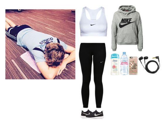 """Gym with Niall "" by directioner-dxi ❤ liked on Polyvore featuring art, Niall, horan, gym and plus size clothing"