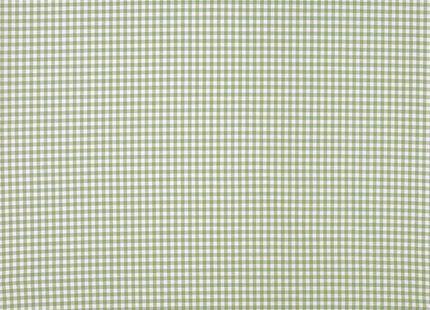Gingham Heath Green Check Cotton Fabric | Laura Ashley