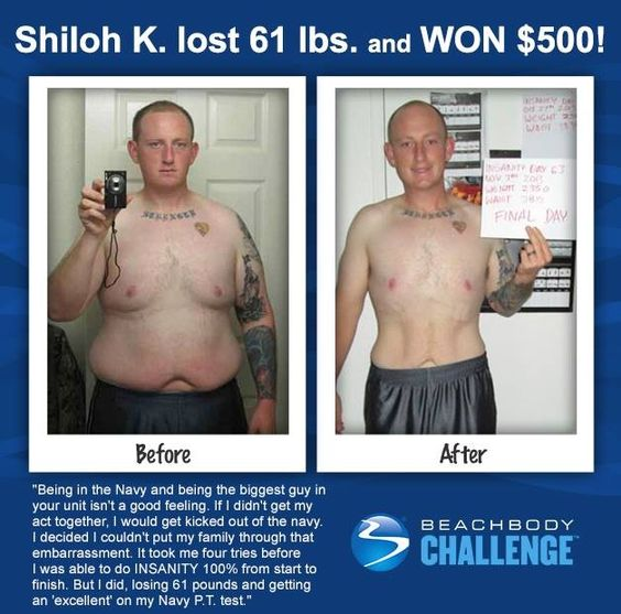 Wow, Shiloh lost big with Insanity and was rewarded with a $500 prize! It's amazing seeing the amazing results people get with their programs! Want information on how you can be entered in for the daily $500 drawing? Message me.  Decide. Commit. Succeed. MHackworthFitness@gmail.com