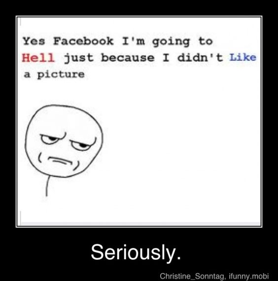 Hate when people do this so they can just get likes on there pictures grrrrrr....