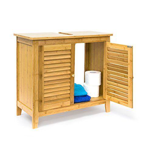 17 mejores ideas sobre Waschbeckenunterschrank Bambus en Pinterest - badezimmer zubeh r set