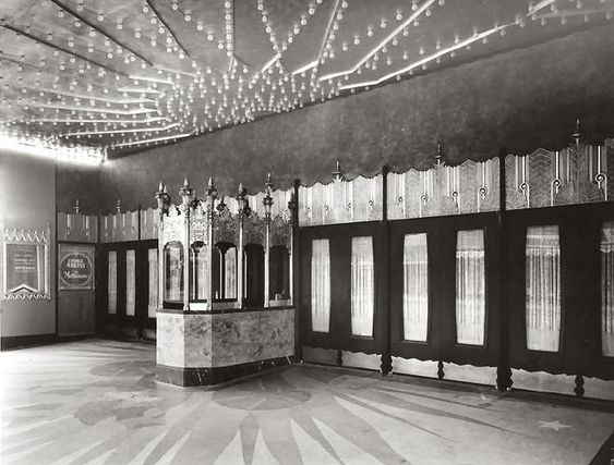 the fox theatre westwood why is it called a box office in art deco box office loew