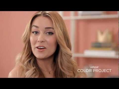 Lauren Conrad - Valspar Color Project Video {see how i transformed my paper crown office with a little pain}