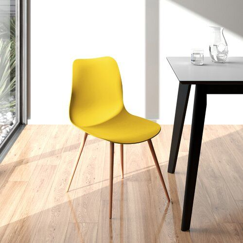 Baringer Dining Chair Set Of 2 Hykkon Colour Yellow Dining