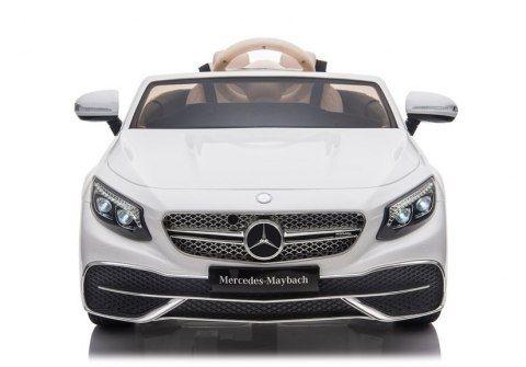 Auto Na Akumulator Mercedes Maybach Bialy Maybach Mercedes Maybach Toy Car