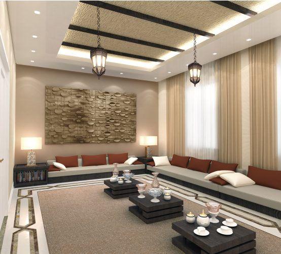 Tips Desain Ruang Tamu Lesehan Gaya Arab Ruang Keluarga Mewah