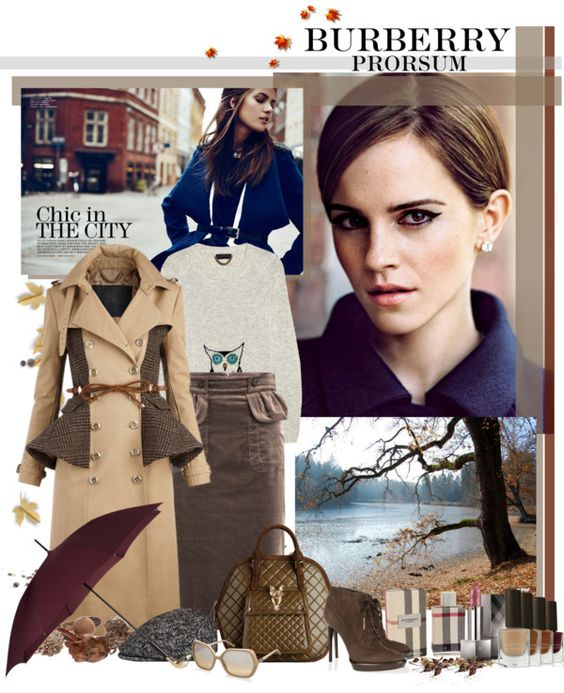 """Burberry Prorsum"" by gokarm ❤ liked on Polyvore"