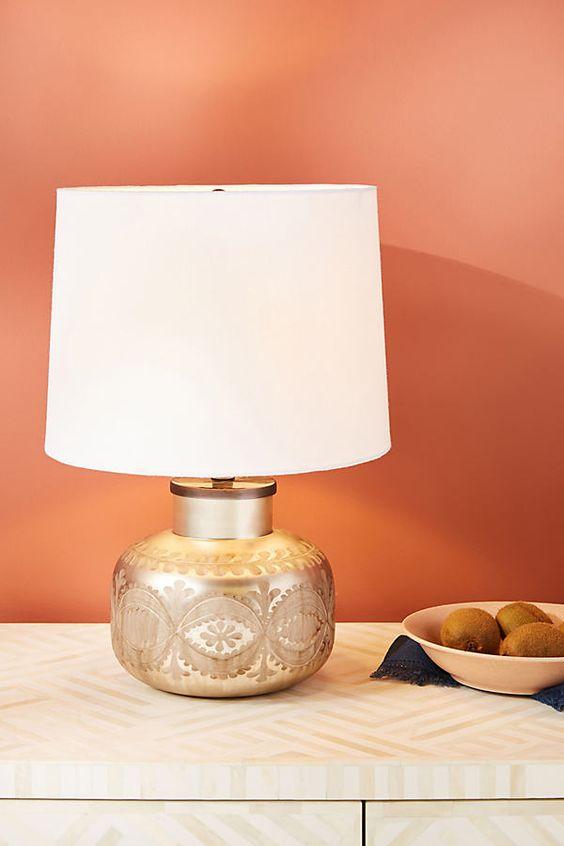 Fern Table Lamp