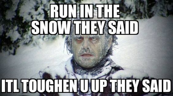 Lol, in my case - train out in the cold...: