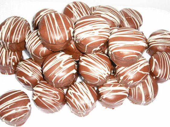 Pão de Mel: Cookie Balls, 4 1 5 Por