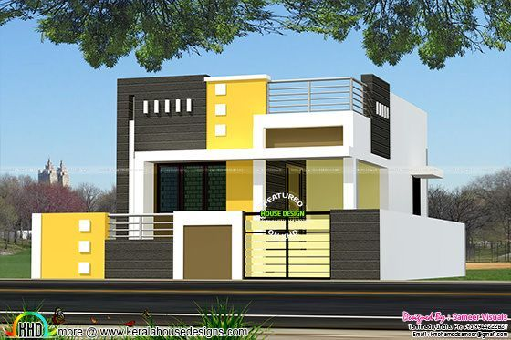 1200 Square Feet Single Floor Tamilnadu Home Kerala Home Design