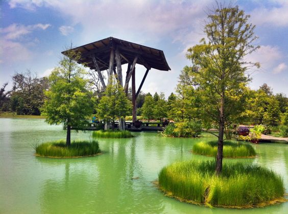 Shangri La Botanical Gardens and Nature Center (Orange)- If you're in the area, these beautiful botanical gardens are a must-see. View a variety of different plant life in the gardens, and you can even take a bayou boat tour and see turtles, birds, and other animals native to the area.