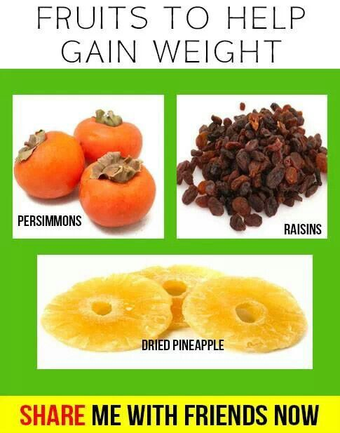 Fruits That Helps You Gain Weight Health Tip Pinterest