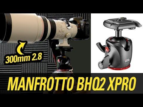 Manfrotto Bhq2 Xpro Ball Head Review Canon 300mm 2 8 Youtube Photography Gear Ball Reviews