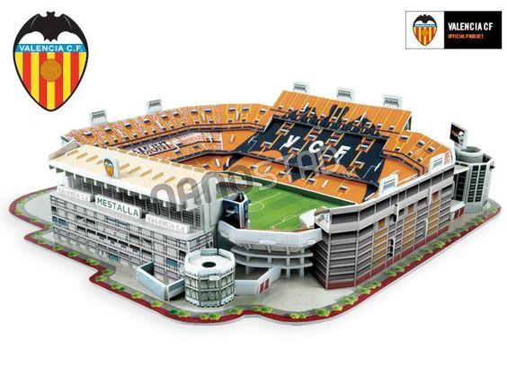 Maqueta Valencia Stadium
