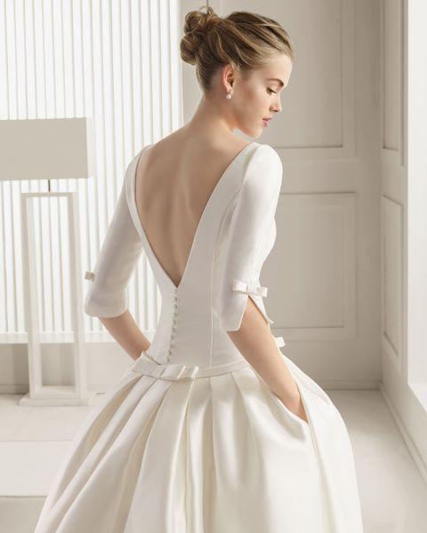 Los 60 vestidos de novia con mangas largas más lindos: El detalle obligado para darle la bienvenida al otoño Image: 9: