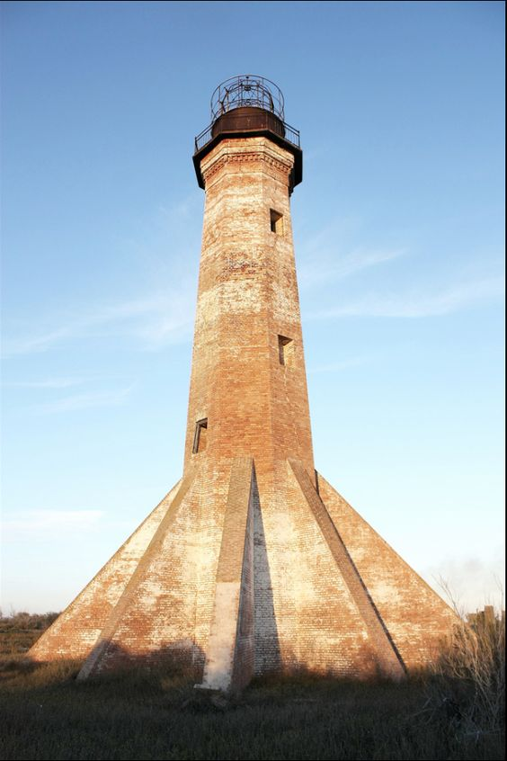 Sabine Pass Lighthouse in Cameron Parish, Louisiana