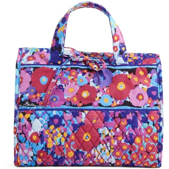 Vera Bradley Hanging Travel Organizer in Impressionista ($48) ❤ liked on Polyvore featuring impressionista, travel and travel accessories