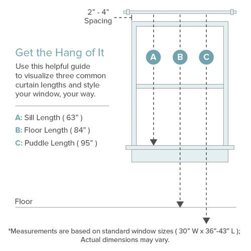 Curtains Ideas common curtain sizes : Henna Curtain Panel | Linens, Henna and Curtain panels