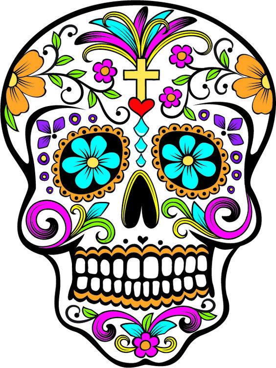 Mandalas Arte, Skull Dia, Calavera Catrina, Arte Mexicano, Catrinas, Dia De Los Muertos, Bordado Mexicabi, Ideas Ofrendas, Azúcar Dia